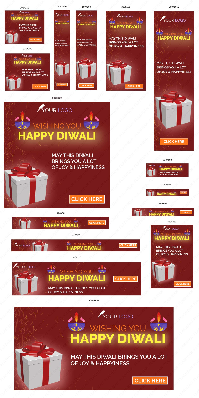 Ad Banner for Diwali