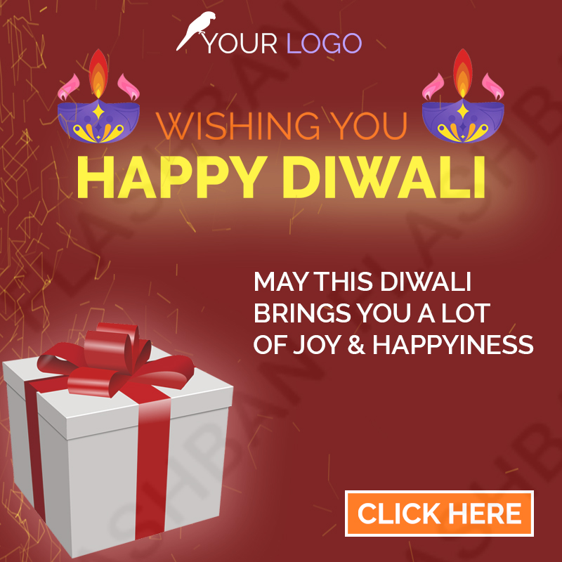 Ad Banner for Diwali