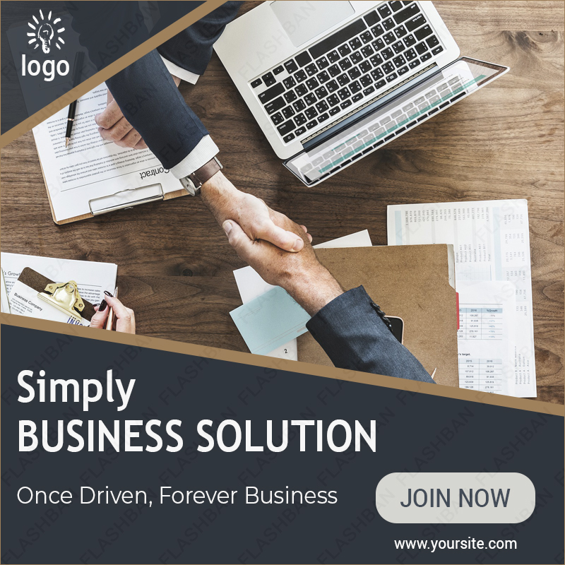 Ad Banner for Business
