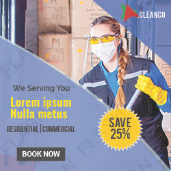 Cleaning Service Ad Banner