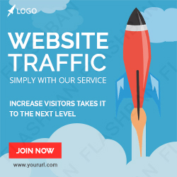Website Traffic Ad Banner