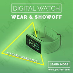 DIgital Watch Ad Banner
