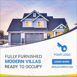 Modern Vila Ad Banner