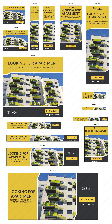 Apartment Sale Ad Banner