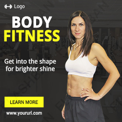 Body Fitness Ad Banner