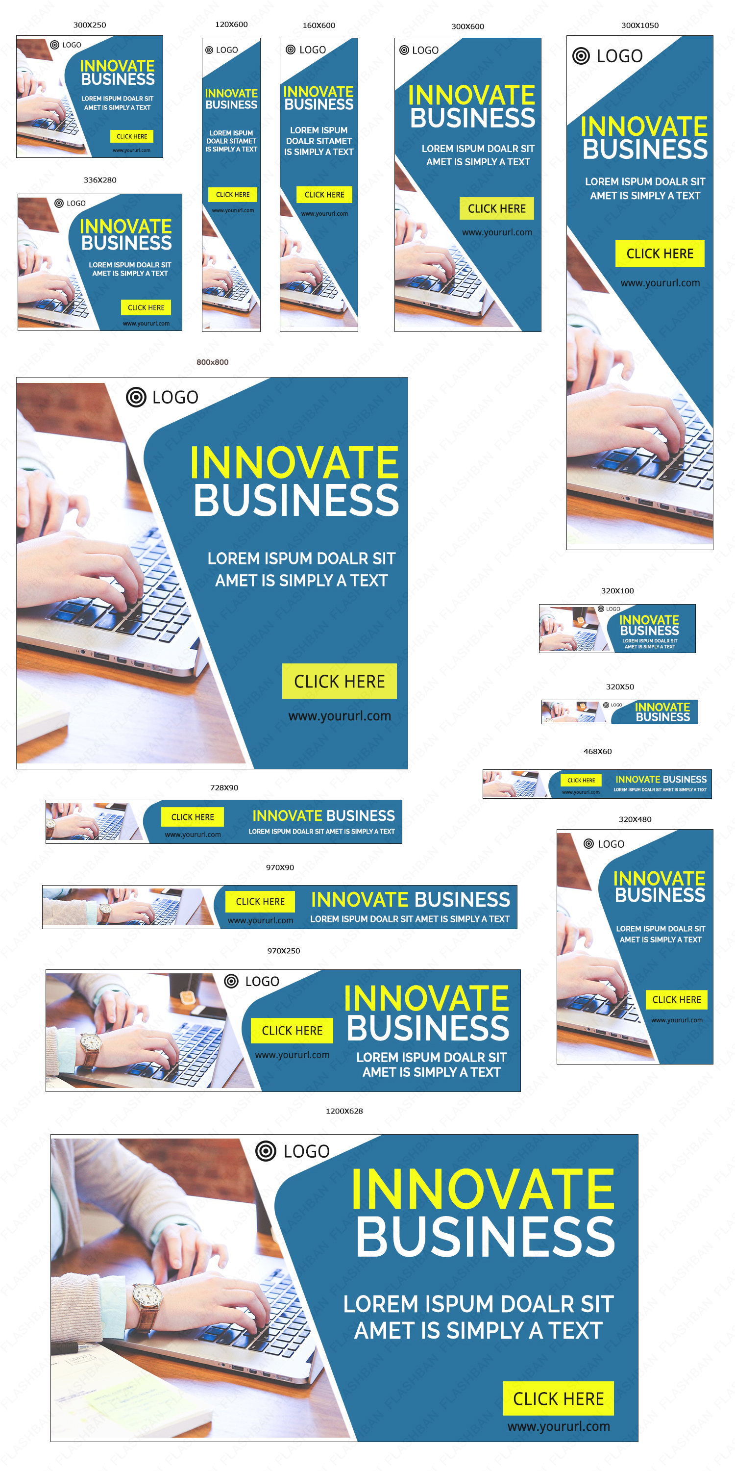 Innovative Business Ad Banner