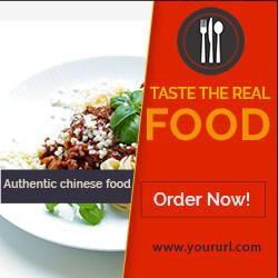 Restaurant Banner ads