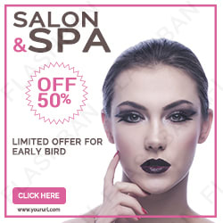 Salon and Spa Ad Banner