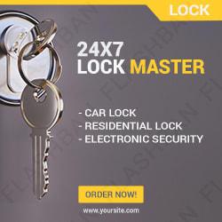 Locksmith Ad Banner