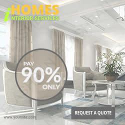 Interior Design Services Ad Banner