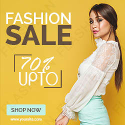 Fashion Sale Ad Banner