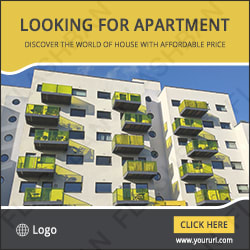Appartment Sale Ad Banner