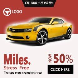 html5 car banner for google ads