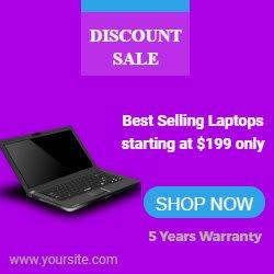 laptop banner in html5 for google ads