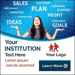 education banner for google ads and facebook