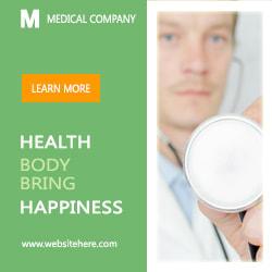 Medical banner for google ads