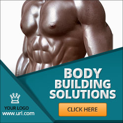 ad banner for gym club
