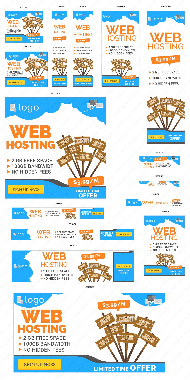 Web Hosting Ad Banner