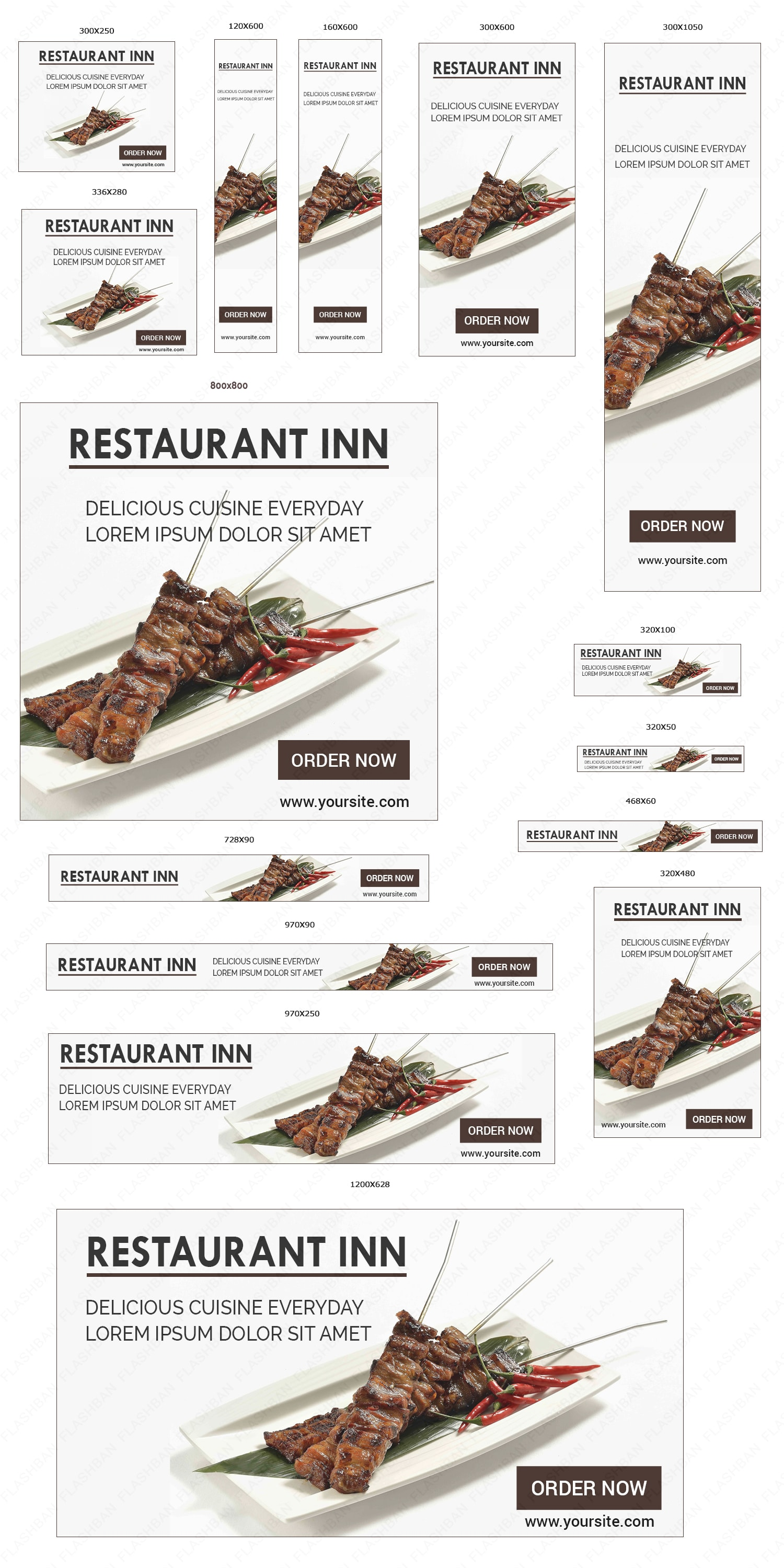 Ad Banner of Restaurant