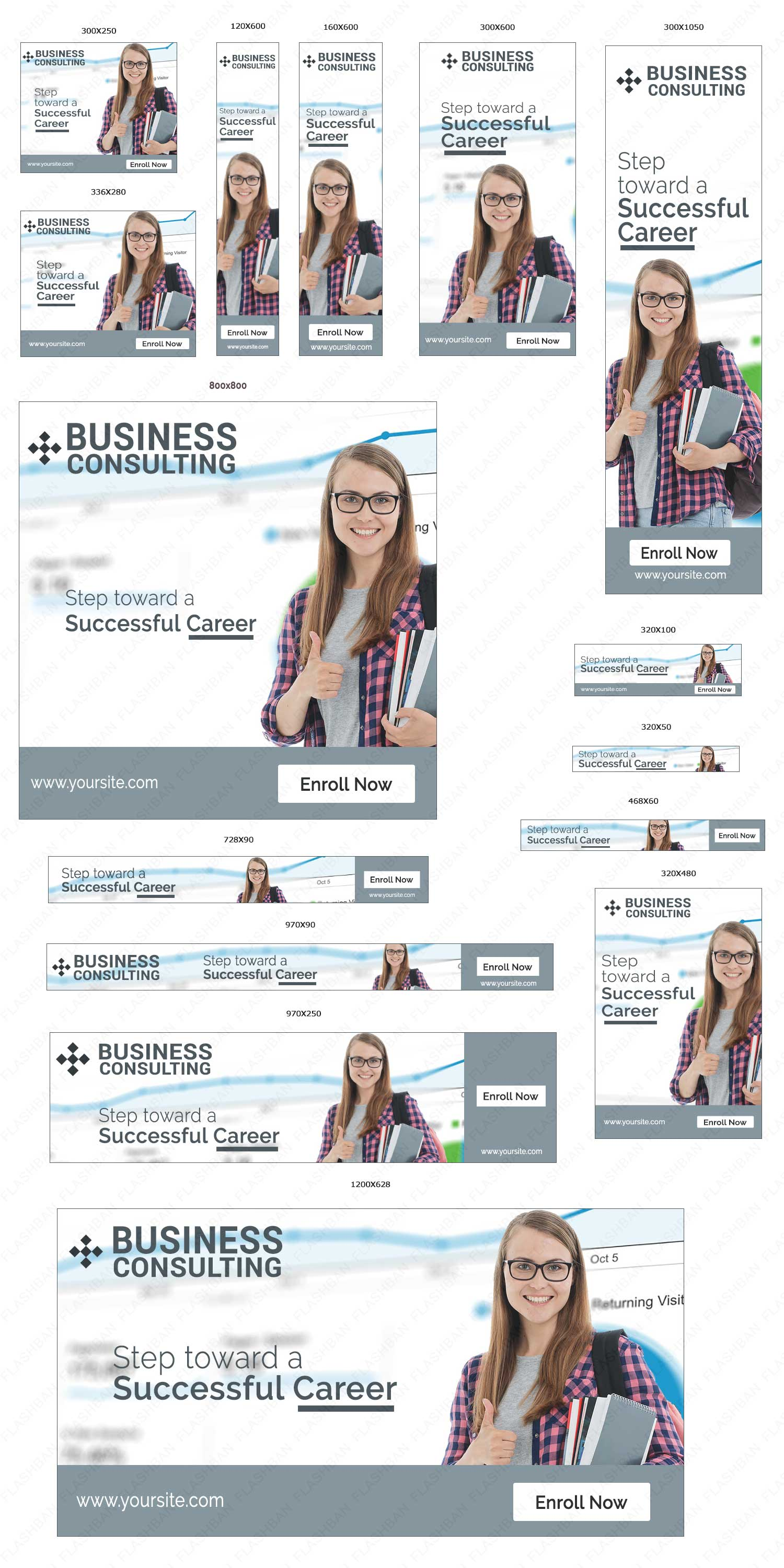 Business Consulting Ad Banner