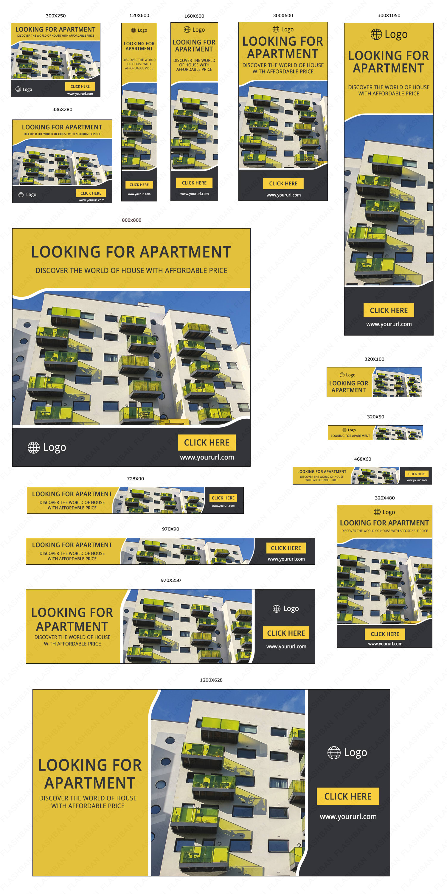 Apartment Sale Ad Banner
