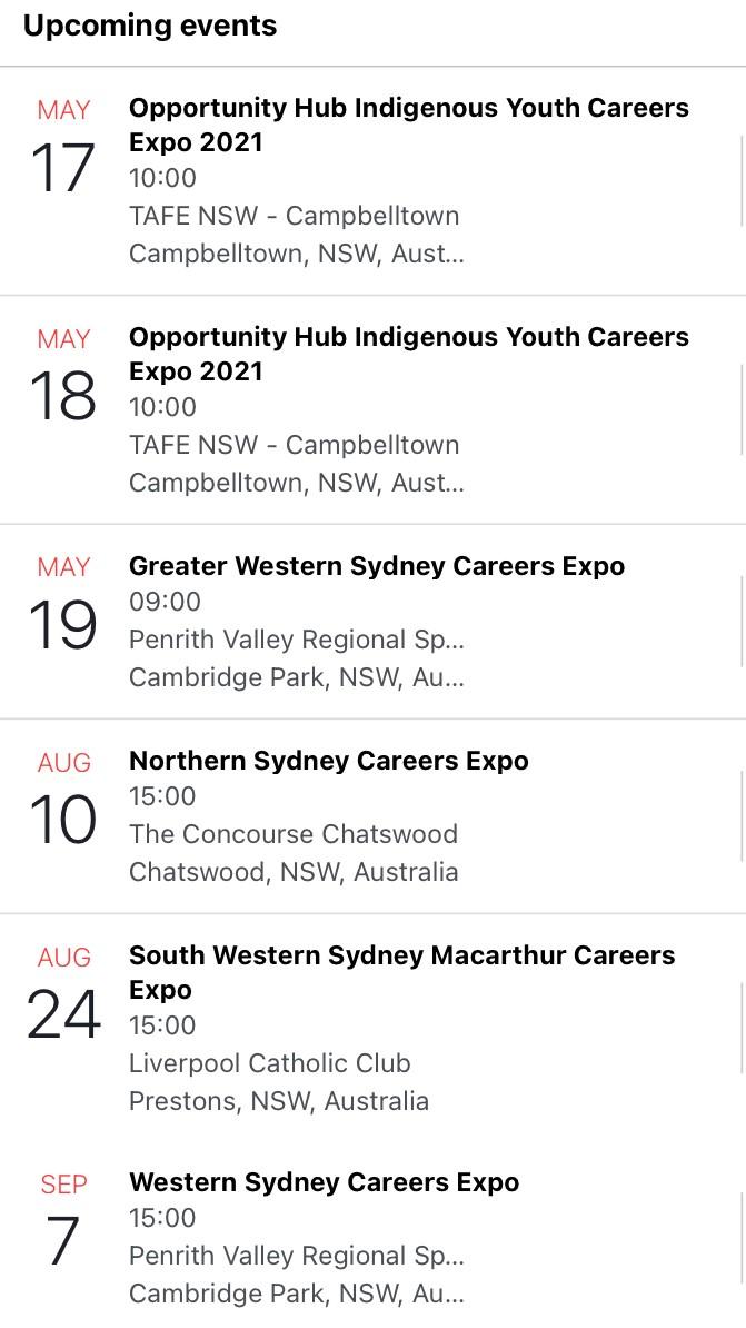 expo events 1300apprentice