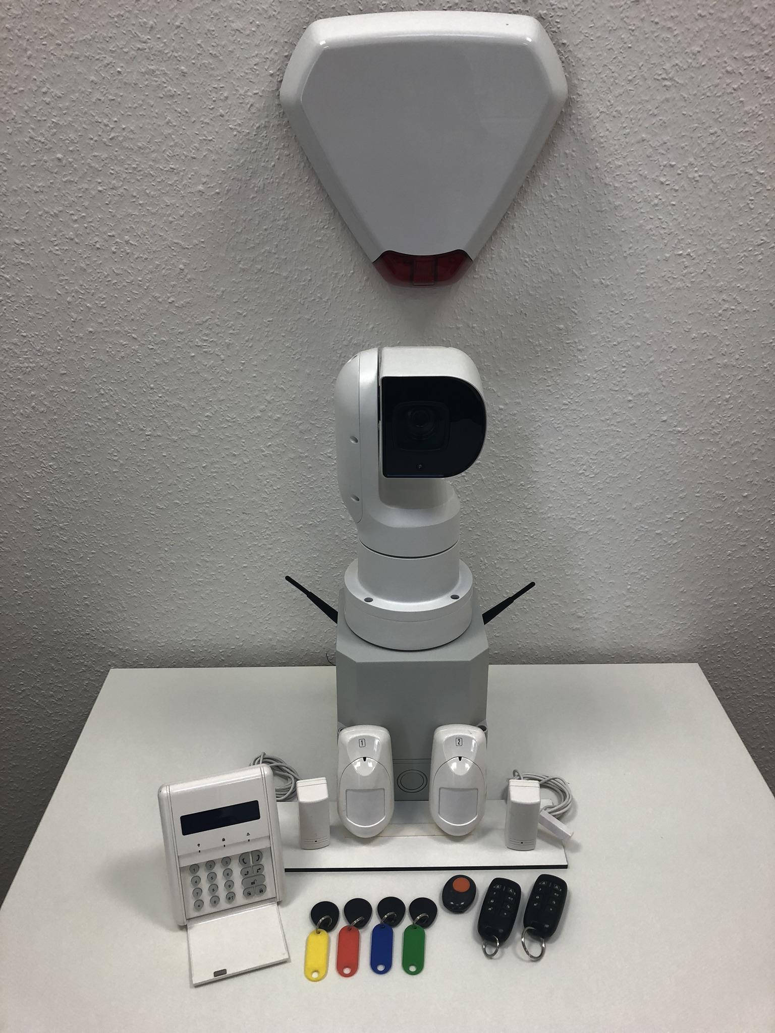 Secura 1 Alarm IP 1 - Kaufanfrage Box und Systemkopf