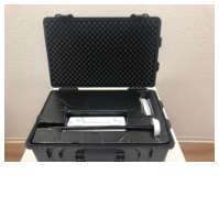 Koffer Baucam offen - Secura Baucam