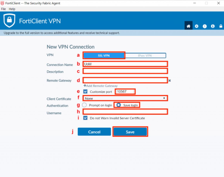 墨尔本大学VPN5