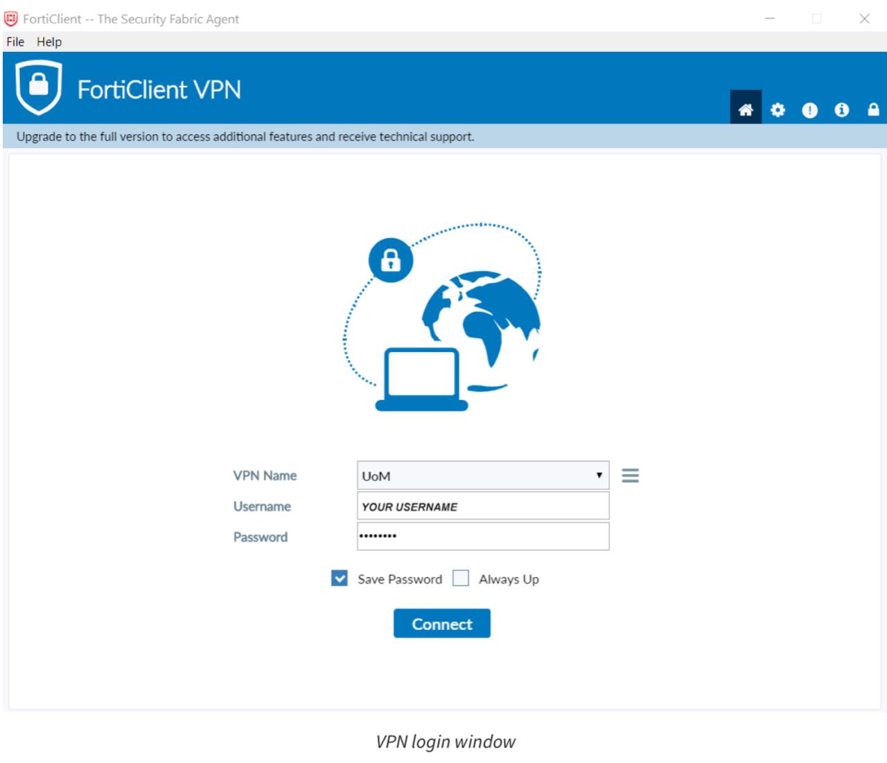 墨尔本大学VPN6