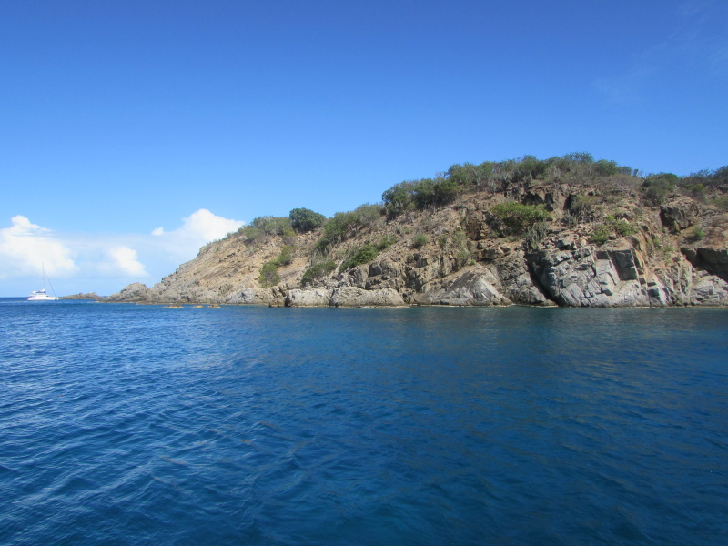 Snorkeling spot off Virgin Gorda