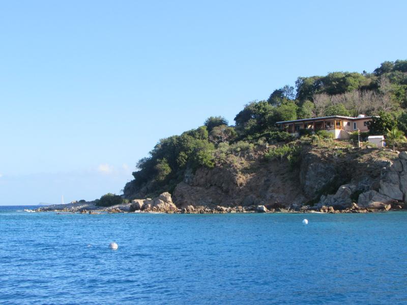 Cooper Island harbor