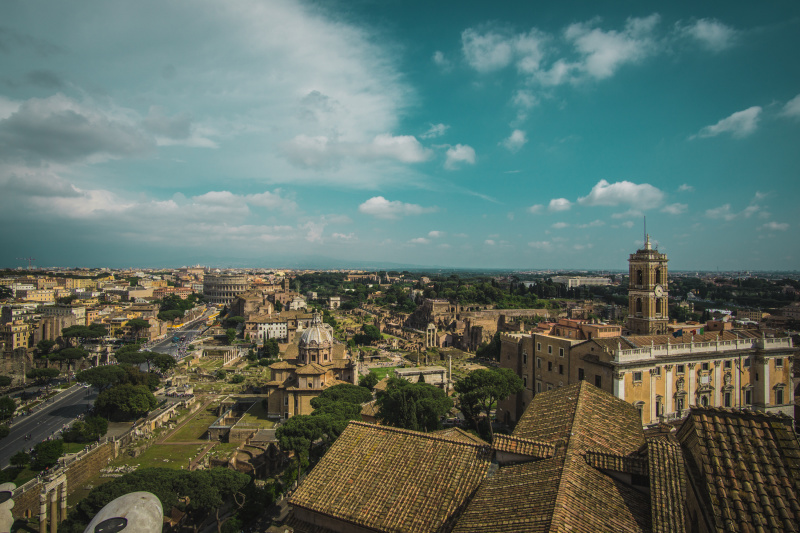 The top of the Altare della Patria