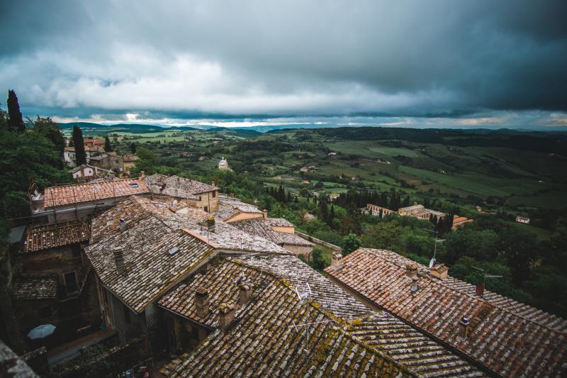 Montepulciano views