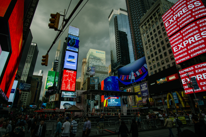 Foreboding Times Square 9/20/2018