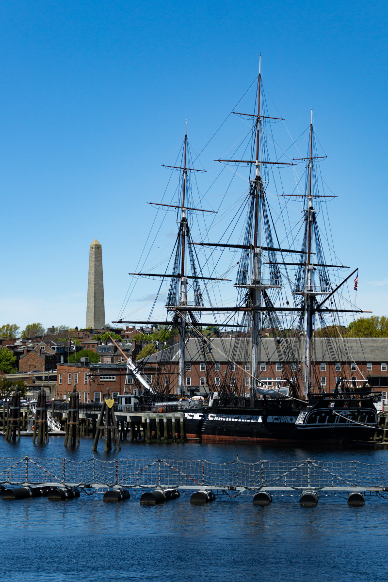 The USS Constitution commissioned by George Washington himself