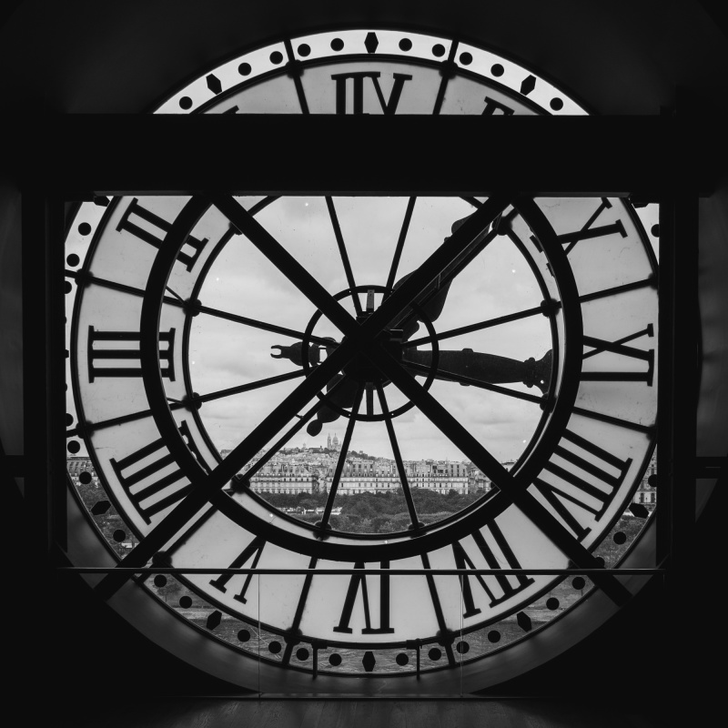 Keeping time at Musée d'Orsay