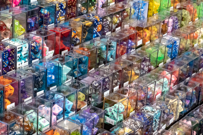 So many dice to purchase