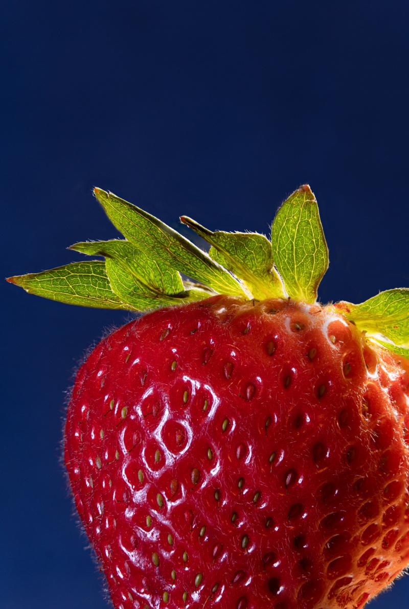Strawberry super detail