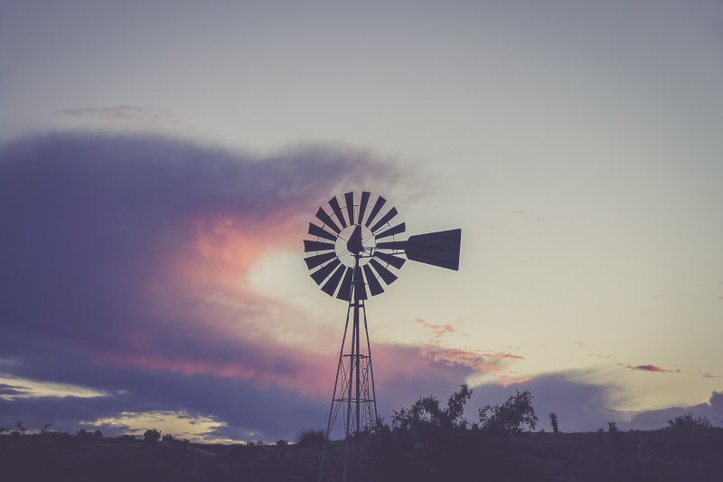 Windmill somewhere in New Mexico