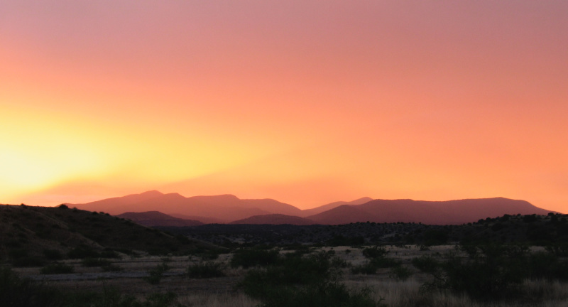 New Mexican Sunset