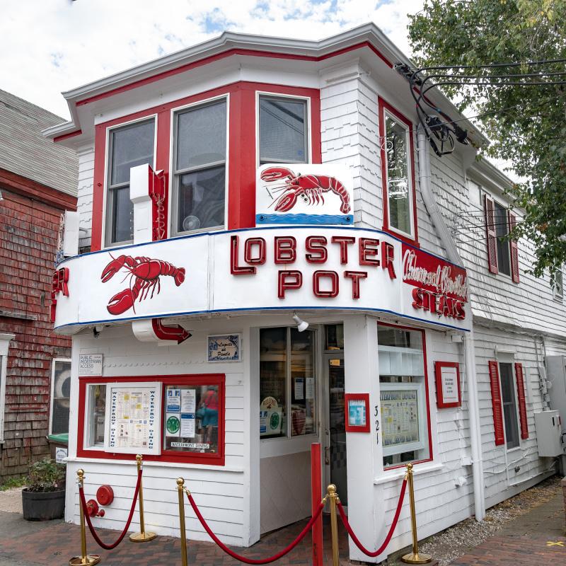 Classic lobster shop