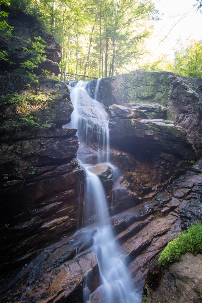Flume Gorge Waterfall Long Exposure
