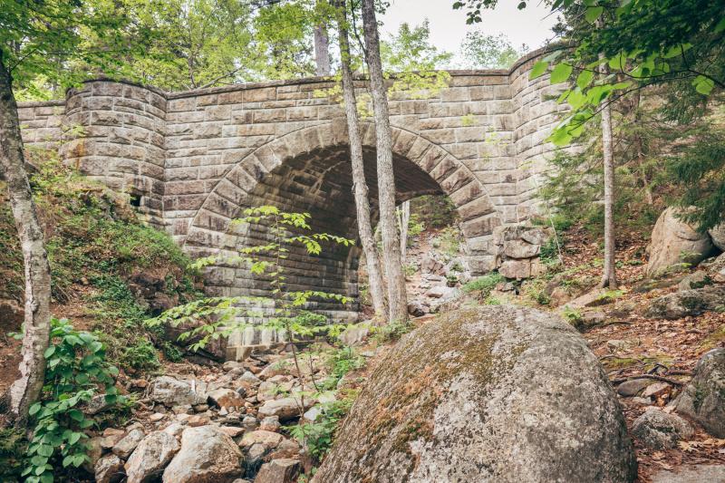 Waterfall bridge