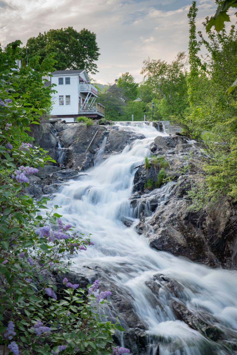 Camden waterfall