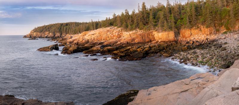 Sunrise near boulder beach