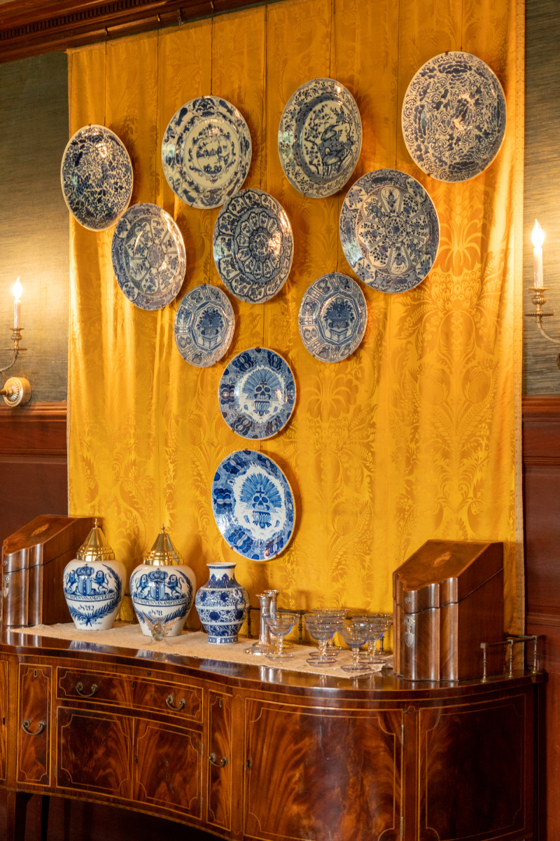China in the dining room