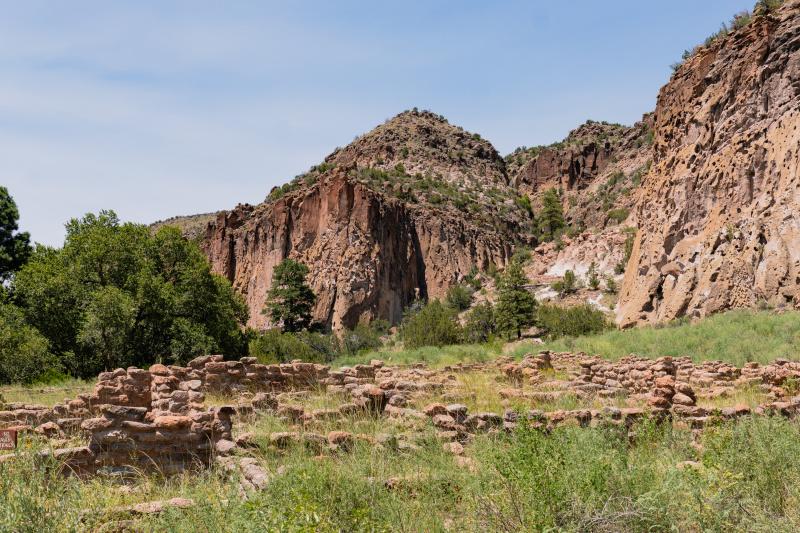 Remaining walls