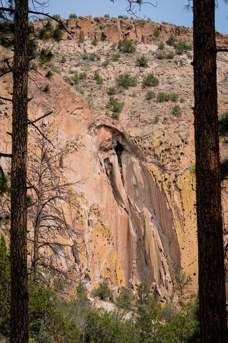 Impressive cliff faces