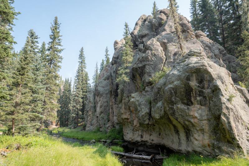Formidible rock formations